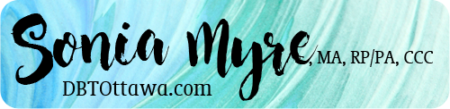 Sonia Myre, MA, Registered Psychotherapist / Psychothérapeute autorisée